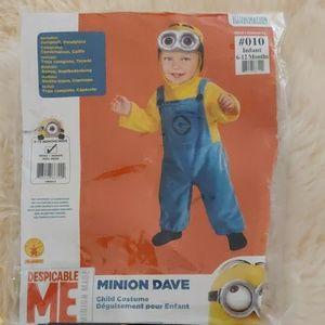 Minion Dave child costume